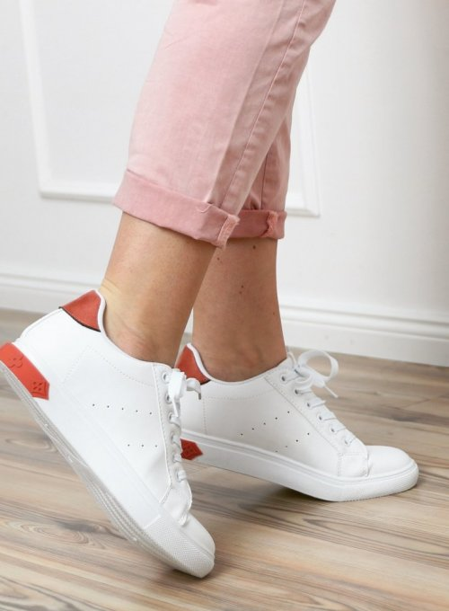 Buty Adidasy White- pink