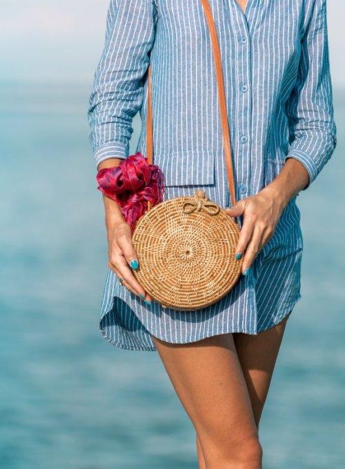 Plecione torebki – must have na lato
