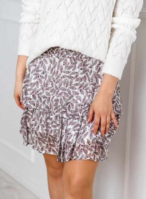 Zwiewna spódnica z falbankami - Margi