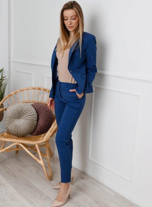 Spodnie cygaretki Edith w kolorze classic blue