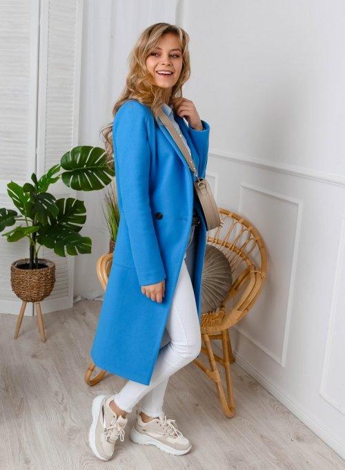 Płaszcz Janett Niebieski 1