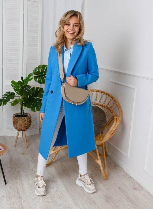 Płaszcz Janett Niebieski 3