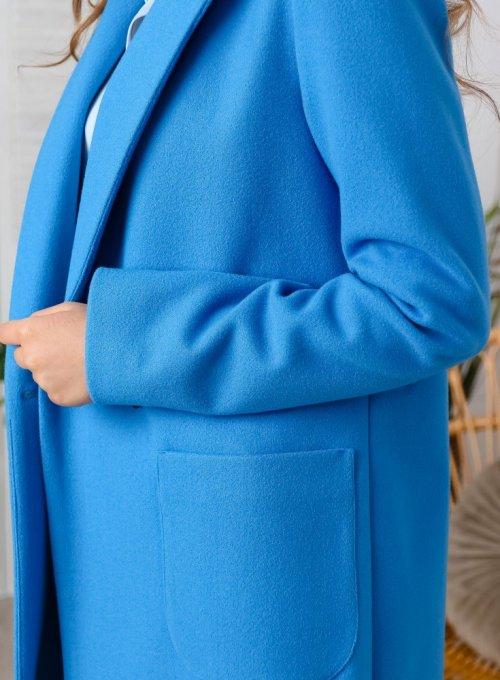 Płaszcz Janett Niebieski 2