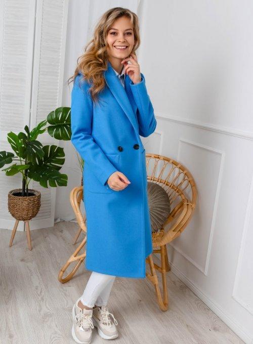 Płaszcz Janett Niebieski 5