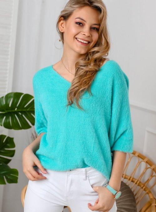 Sweter Glory Miętowy