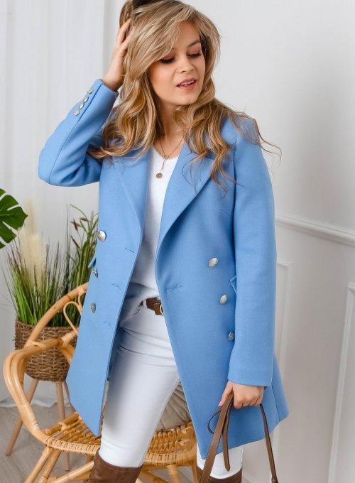 Płaszcz Angie Niebieski