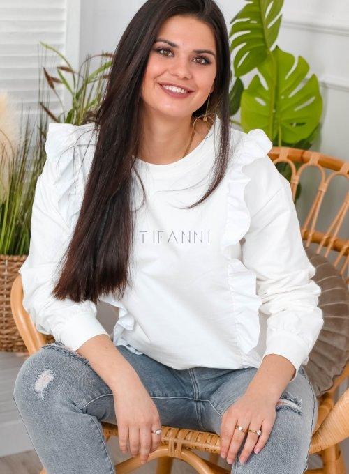 Bluza z falbankami - ELIOT