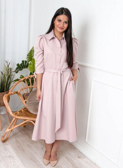 Sukienka Jessi Pudrowa 1