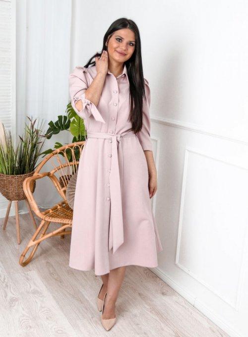 Sukienka Jessi Pudrowa 2