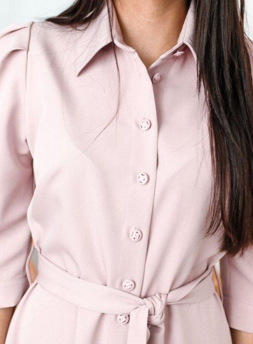 Sukienka Jessi Pudrowa 3