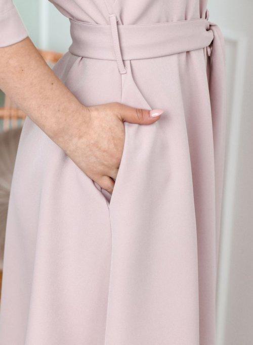 Sukienka Jessi Pudrowa 5