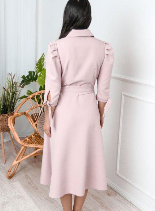 Sukienka Jessi Pudrowa 7