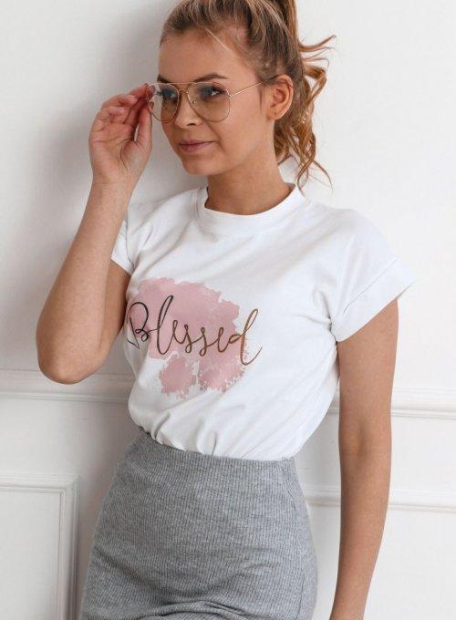 T-shirt Lori Biały