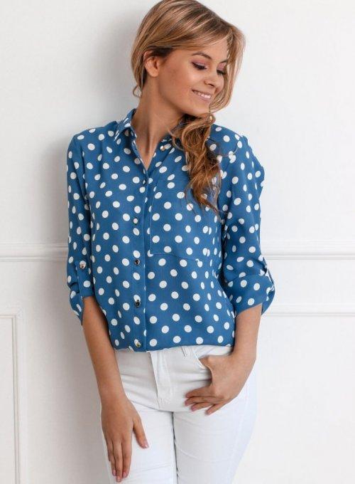 Koszula Midos Niebieska