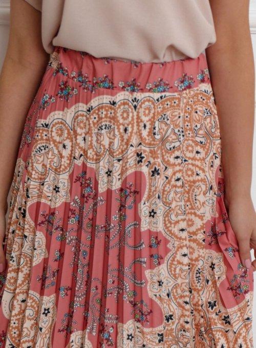 Spódnica plisowana maxi - NOXI I 2