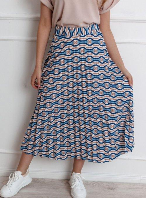 Spódnica plisowana maxi - Mirandi
