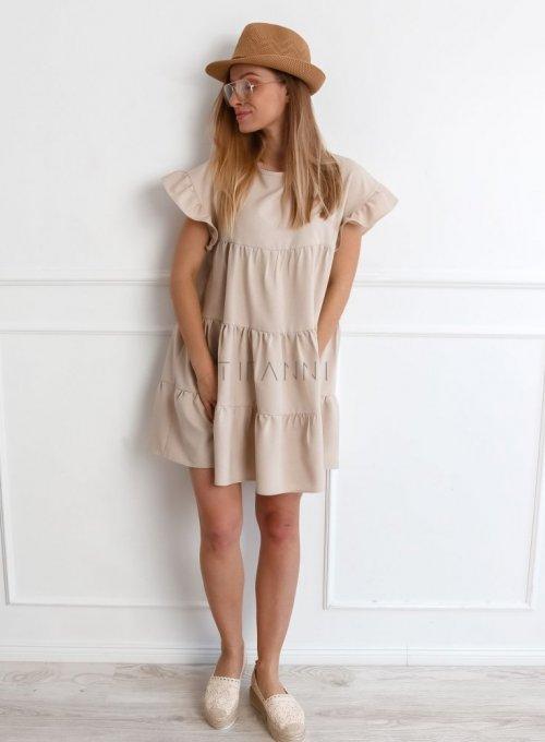 Sukienka Oli Beżowa 2