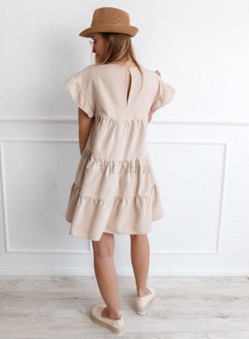 Sukienka Oli Beżowa 3