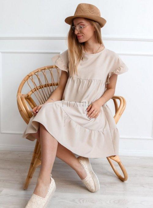 Sukienka Oli Beżowa 1