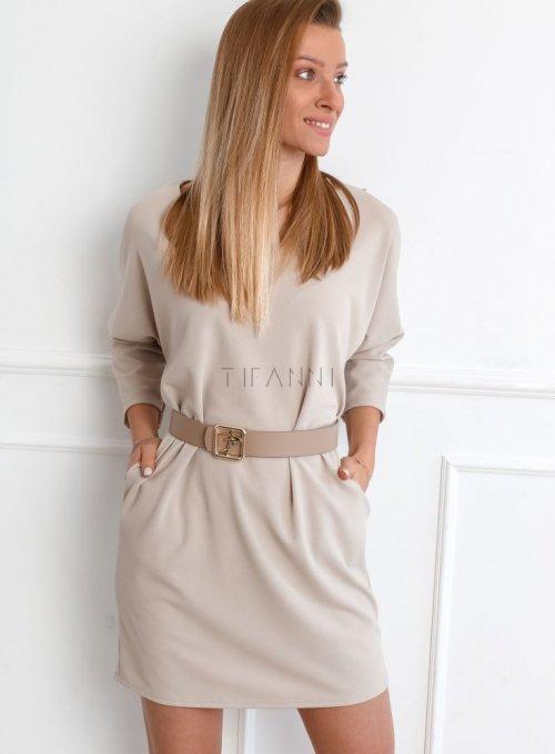 Sukienka Sabi Beżowa