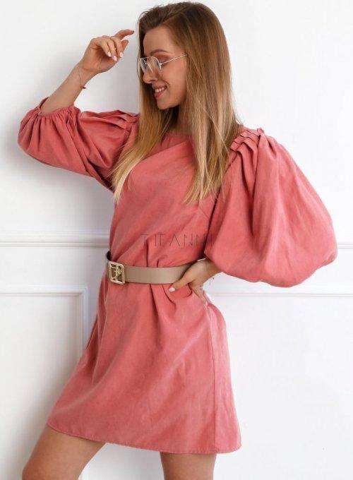 Sukienka Simon Różowa 3