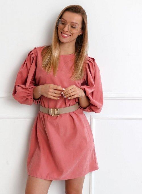 Sukienka Simon Różowa 2