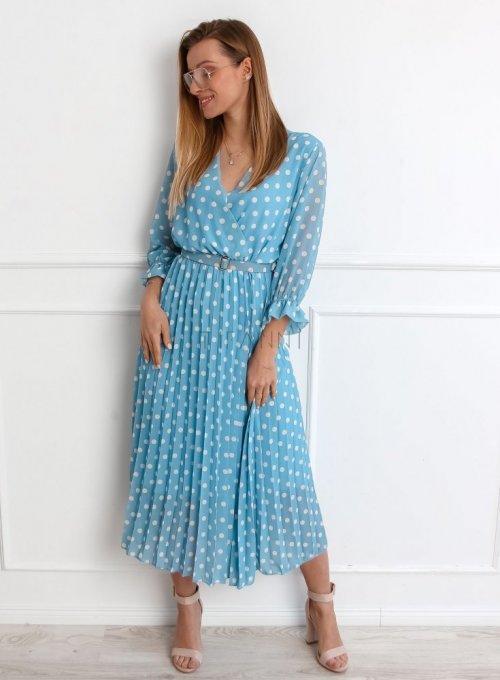 Sukienka Debi Niebieska