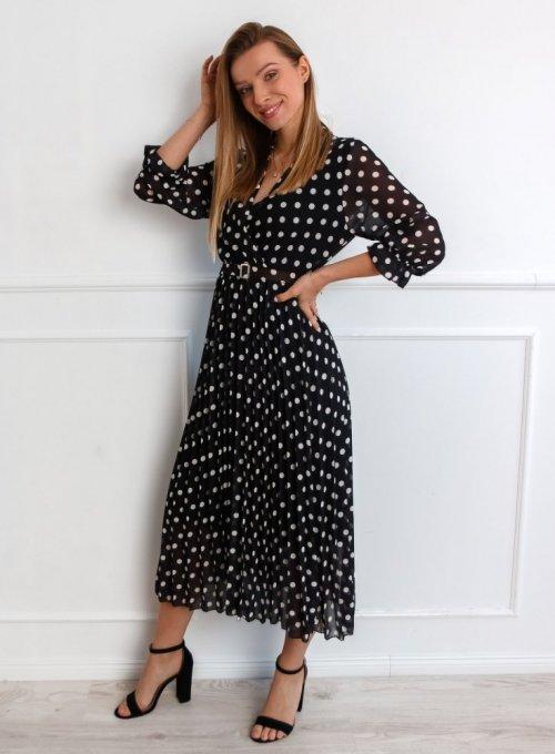 Sukienka Debi Czarna 2