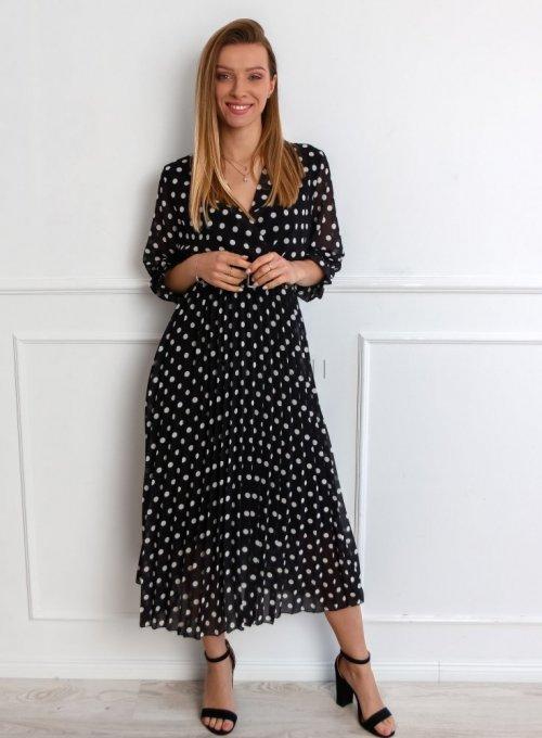 Sukienka Debi Czarna 3