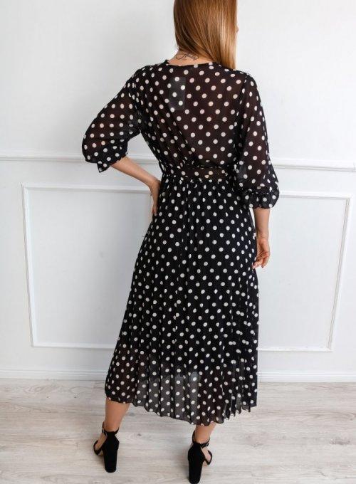 Sukienka Debi Czarna 4