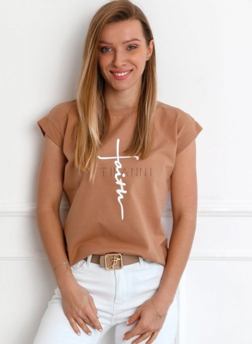 T-shirt Faith Nude