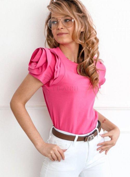 Bluzka Nadya w kolorze fuksji 2