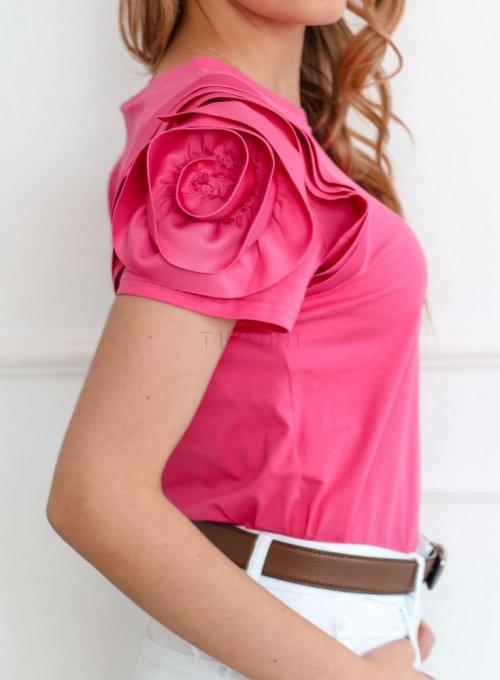 Bluzka Nadya w kolorze fuksji 3