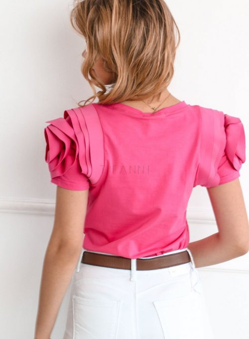 Bluzka Nadya w kolorze fuksji 4