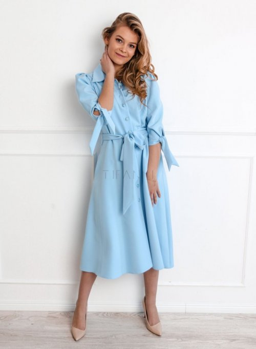 Sukienka Jessi błękitna