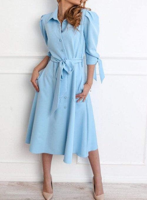 Sukienka Jessi błękitna 1
