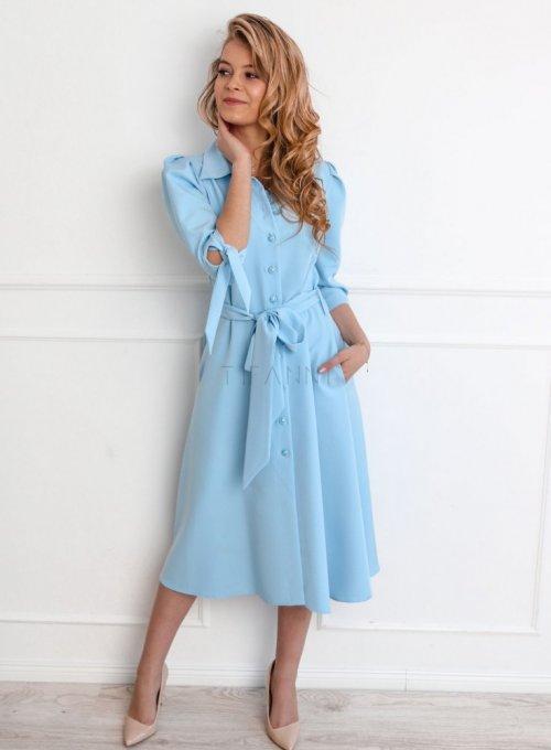 Sukienka Jessi błękitna 2