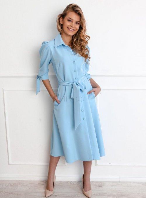 Sukienka Jessi błękitna 3
