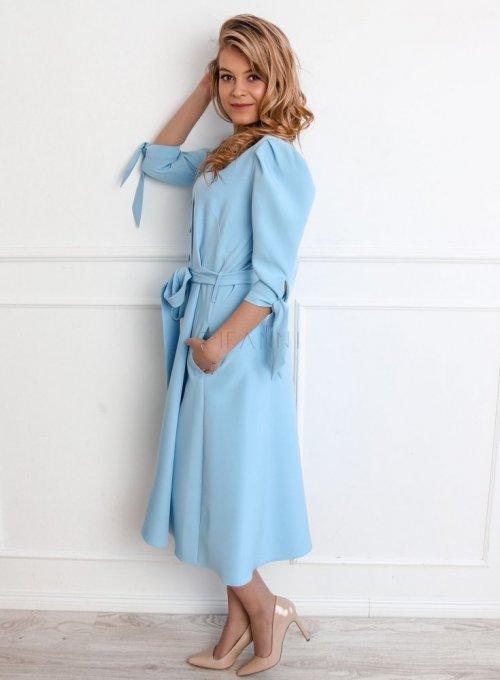 Sukienka Jessi błękitna 4