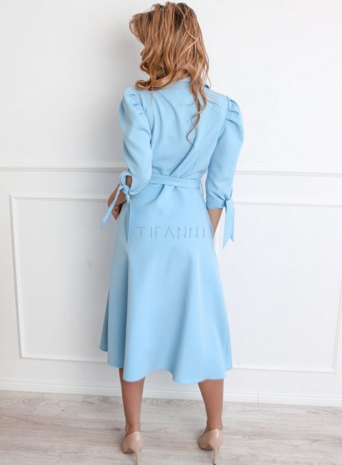 Sukienka Jessi błękitna 5