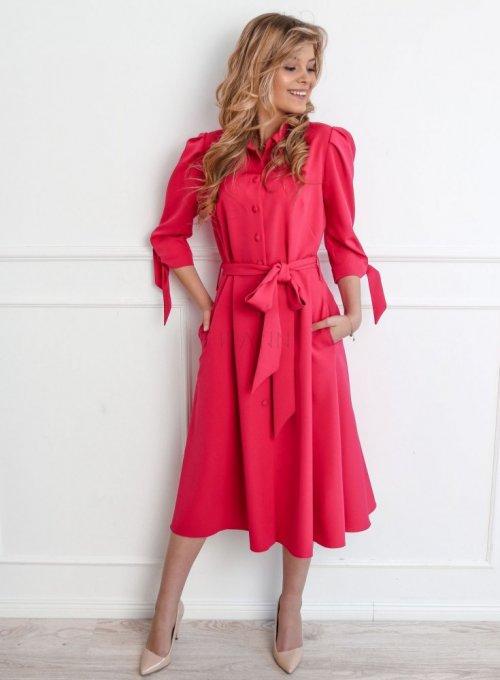 Sukienka Jessi fuksja 4