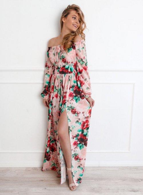 Sukienka Maxi Rose