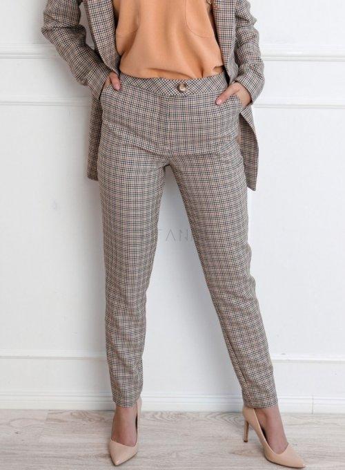 Spodnie w kratę Lace 1