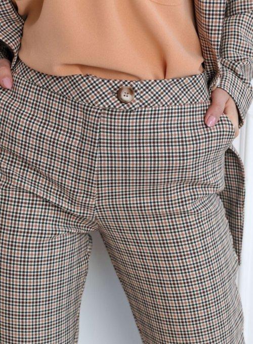 Spodnie w kratę Lace 5