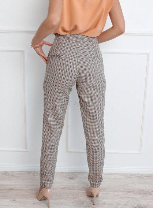 Spodnie w kratę Lace 3