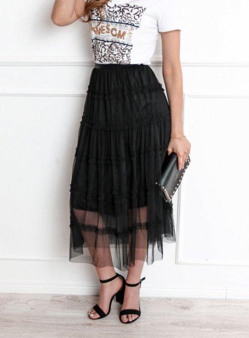 Czarna spódnica tiulowa - Sammi