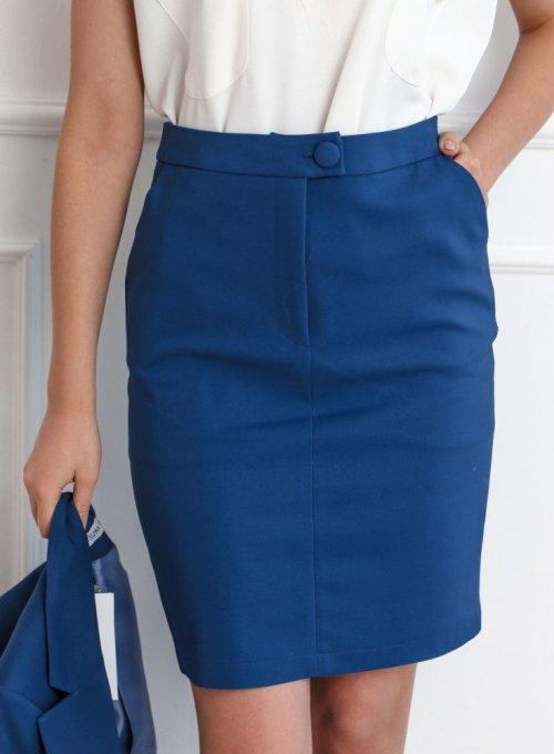 Spódnica ołówkowa w kolorze orion - EDITH