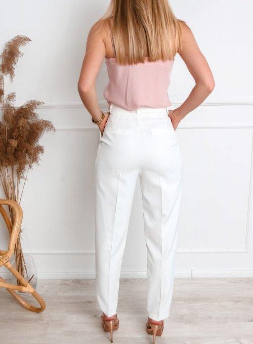 Spodnie Rimini śmietanowe 3