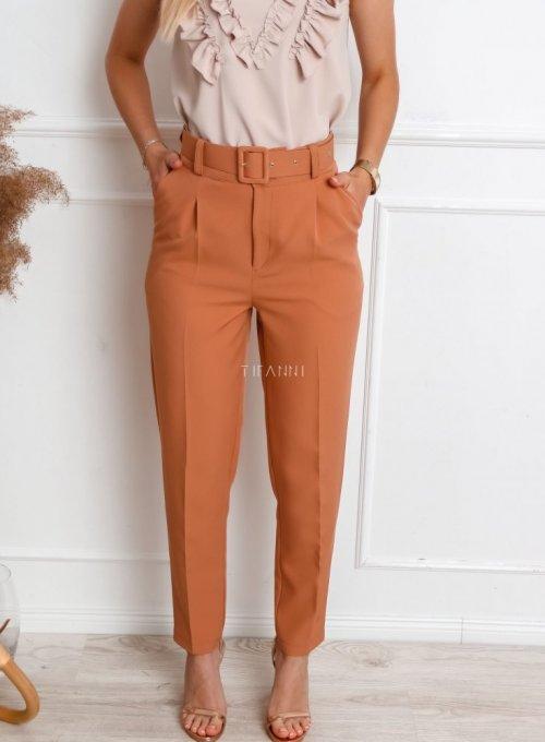 Spodnie Rimini karmelowe