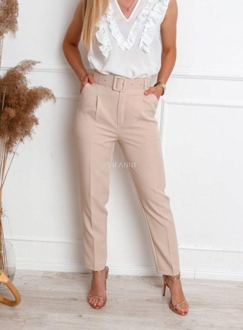Spodnie Rimini beżowym